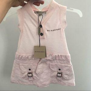 Infant girls Burberry dress 6m NWT